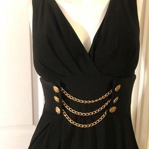 Beautiful black dress size 4/6